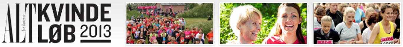 Alt for Damerne Kvindeløb 2013