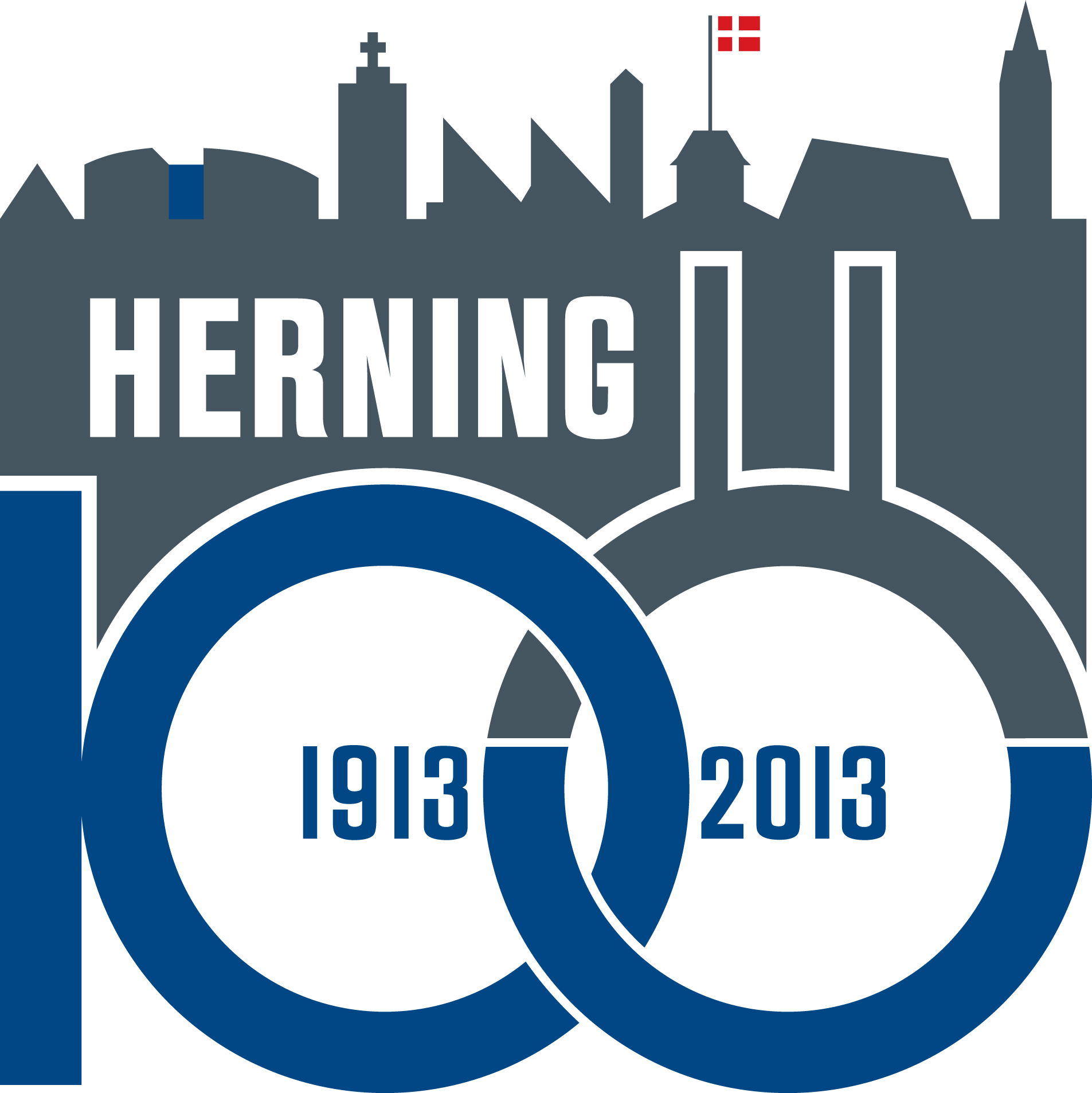 Herning100 logo