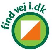 Find vej i Danmark logo